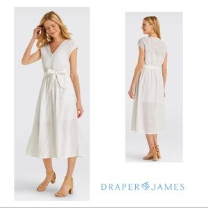 NEW Draper James Collection Eyelet button front